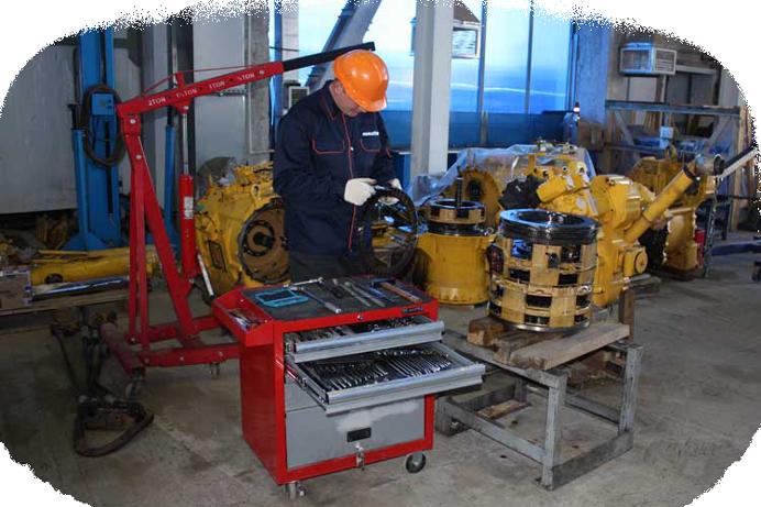 Техническое обслуживание и ремонт экскаваторов с выездом СПБ