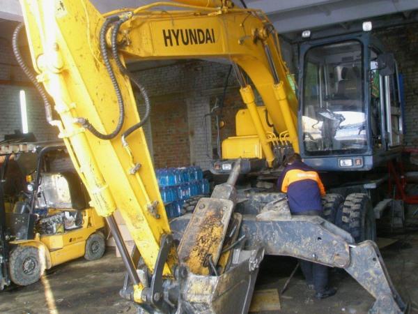ремонт узлов и агрегатов строительной техники